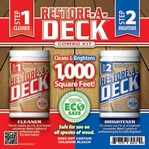 Restore a deck professional results deck stain guide for Revive deck cleaner