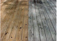 Deck Cleaned